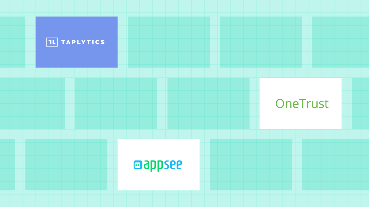 Taplytics, OneTrust, and Appsee are new integration partners with mParticle