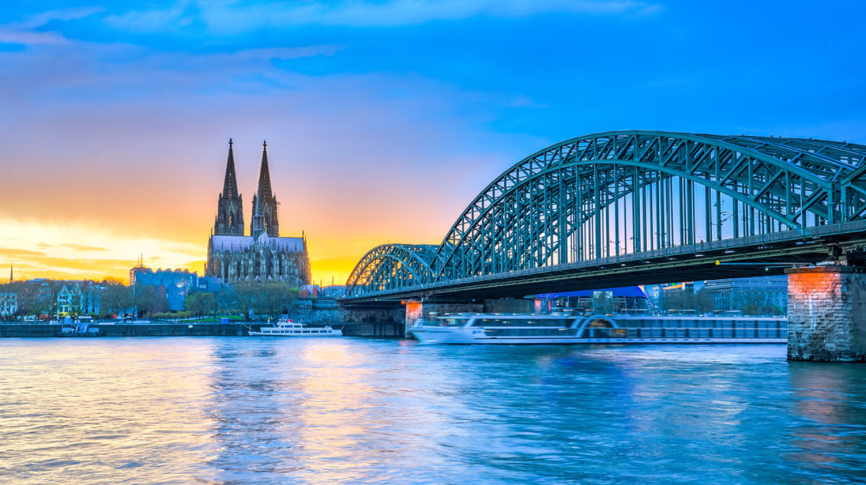 Cologne Germany mParticle Event Background